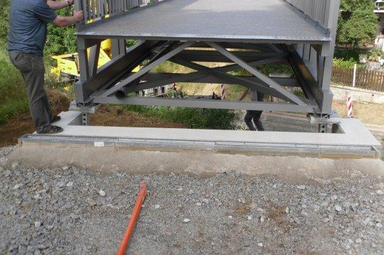 Radwegbrücke Göpfersgrün